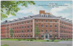 Iowa - Iowa City - University of Iowa - Currier Hall - 1953