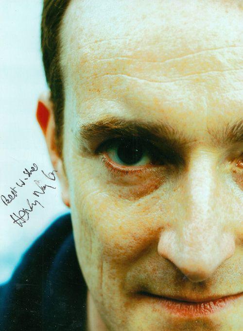 Henry Naylor Spitting Image Writer Giant Hand Signed Photo