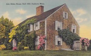 John Alden House Built 1653 Duxbury Massachusetts