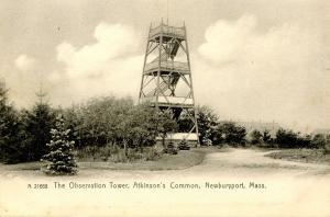 MA - Newburyport. Atkinson's Common, Observation Tower