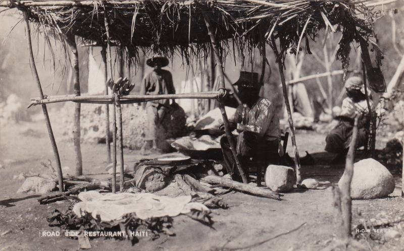 RP, Road Side Restaurant, Haiti, 1920-1940s