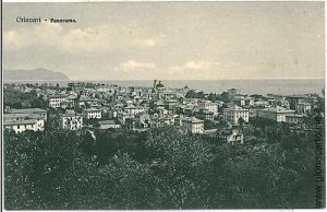 06601  CARTOLINA d'Epoca - CHIAVARI: PANORAMA
