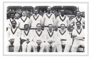 Nostalgia Postcard West Indies Cricket Team 1950 Reproduction Card NS55