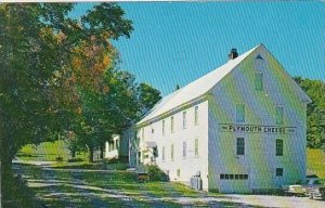 The Coolidge Cheese Factory Plymouth Vermont 1978