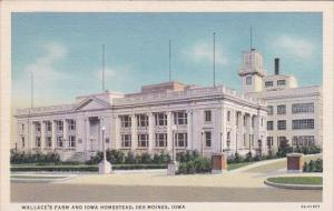 Wallace;s Farm And Iowa Homestead Des Moines Iowa 1939