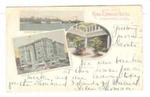 3Views, Oceanliners, Compliments King Edward Hotel (Interior- Exterior), Toro...
