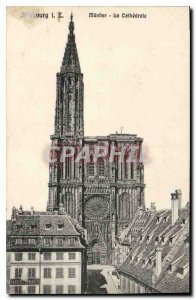 Old Postcard Strassburg I E Cathedrale