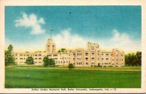 Indiana Indianapolis Arthur Jordan Memorial Hall Butler University 1945 Dexte...