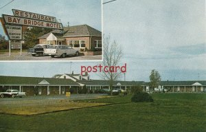 c1950/60's BAY BRIDGE MOTEL & REST. Grasonville MD John & Kathleen Ullrich Owner