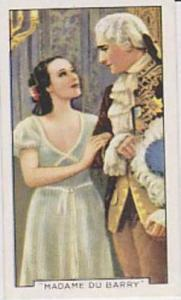 Gallaher Cigarette Card Famous Film Scenes No. 48 Madame Du Barry