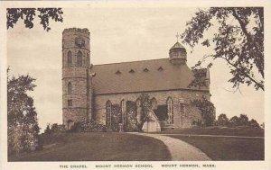 Massachusetts Mount Herman School The Chapel Albertype