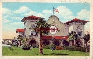 S.P. DEPOT, SAN ANTONIO, TX 1930 Mission style architecture