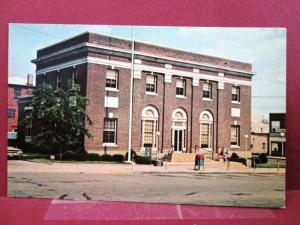 Postcard OH Van Wert US Post Office