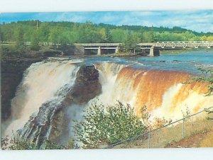 Chrome WATER Kakabeka Falls - Thunder Bay - Port Arthur - Fort William ON AG3807
