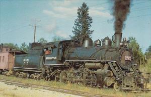 Mississippian Railway Baldwin Locomotive 2-8-0 Number 77
