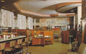 Interior of California Grill, Vancouver, British Columbia, Canada, 40-60s