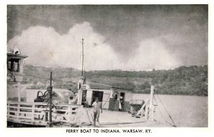 Kentucky  Warshaw  Ferry Boat to Indiana