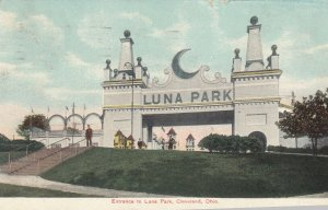 CLEVELAND , Ohio , PU-1908 ; Luna Amusement Park Entrance