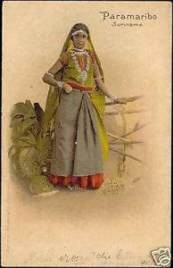 suriname, Native Coolie Girl, Costumes, Jewelry (1899)