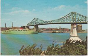 JACQUES CARTIER BRIDGE, EXPO 67, MONTREAL QC