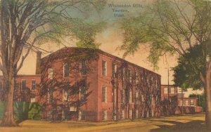 TAUNTON , Massachusetts , 1908 ; Whittendon Mills