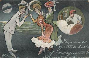 AS; I've made quite a host of new aquaintance's, 1900-10s; Ladies & bedbugs