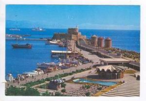 Rhodes, Greece, PU-1991. Port