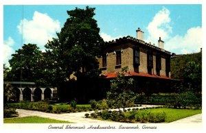 Georgia Savannah , General Sherman's Headquarters