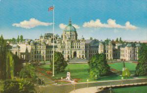 The Parliament Buildings Victoria Canada