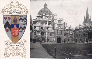 Brasenose College, OXFORD, Oxfordshire, England, United Kingdom, 00-10s