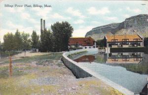 BILLINGS, Montana, PU-1909; Billings Power Plant