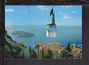 Funicular Railway,Dubrovnik,Croatia Postcard BIN