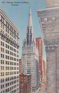 Chicago Temple Building, Chicago, Illinois, 1930-1940s