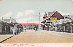 PRETORIA SOUTH AFRICA~MARKET STREET~R O FÜSSELEIN PUBL POSTCARD