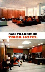 California San Francisco Y M C A Hotel Lobby anbd Lounge