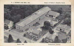 SMOKETOWN , Pennsylvania, 1954 ; P.L.Rohrer & Bro. Seed Company
