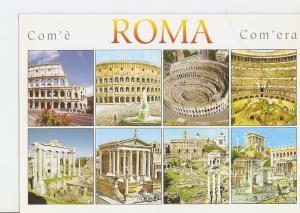 Postal 023278 : Il Colosseo e il Foro Romano, Roma