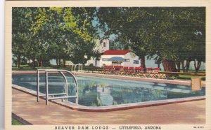 Arizona Littlefield Beaver Dam Lodge & Swimming Pool Curteich sk2850
