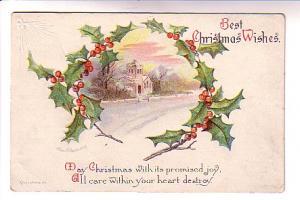 Ellen Clapsaddle, Best Christmas Wishes,