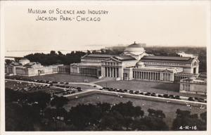 Museum Of Science and Industry Jackson Park Chicago Illinois Real Photo