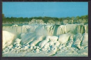 American Falls in Winter,From Niagara Falls,Ontario,Canada