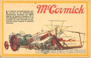 McCormick Tractors Unused