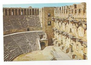 Turkey Antalya Aspendos Theatre Interior Roman Ruins Postcar