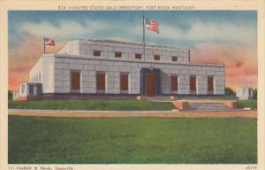 Kentucky Fort Knox United States Gold Depository