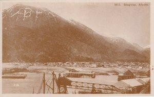 RP, SKAGWAY,  Alaska, 20-40s ; Panorama