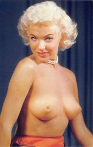 Topless Woman Risque Unused