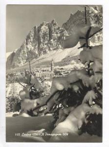 RP  Cortina, Belluno, Veneto, Italy, PU-1960 Il Pomagagnon