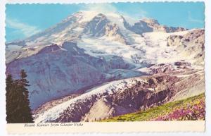 Mount Ranier From Glacier Vista WA Cascades 1972 4X6
