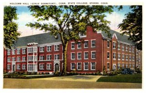 Connecticut  State College , Holcomb Hall , Girl's Dormitory