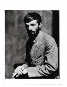 D H Lawrence Author 1920 4 by 6 card
